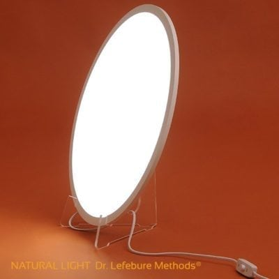 Lámpara de luminoterapia del Dr. Lefebure Methods