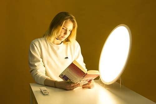 Efectos de la luz a 3000 kelvins, relajación y calma mental