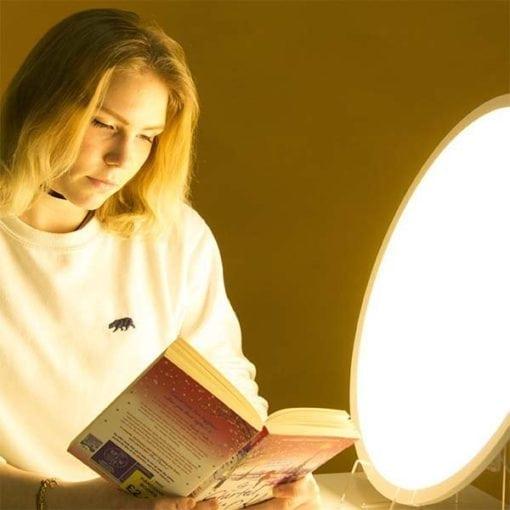 Lámpara de fototerapia, una terapia de luz en casa